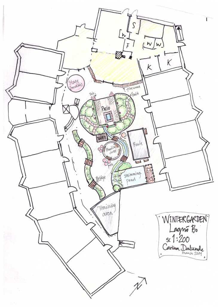 Vinterträdgård Lagnö Bo