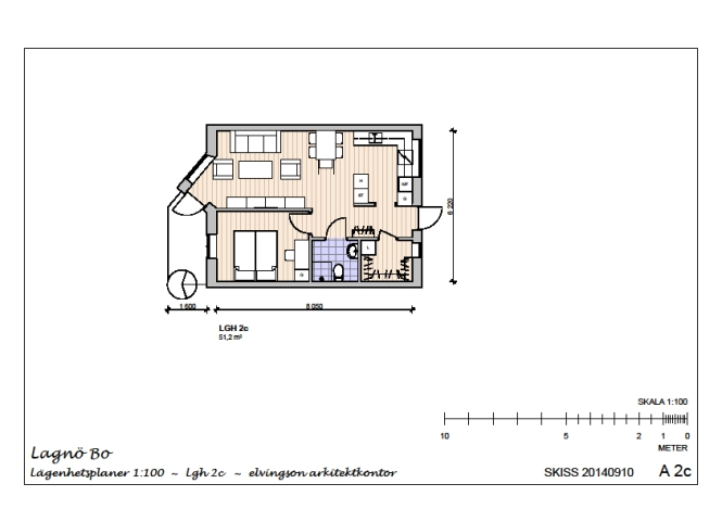 Lägenhet 2c