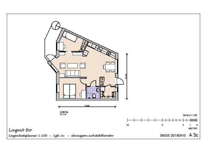 Lägenhet 3c