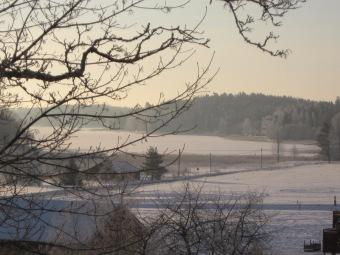 Vinter över Lagnöviken