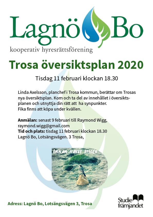 Trosa Kommun presenterar sin översiktsplan på Lagnö Bo